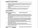 Optometry Student Resume Ophthalmic Technician Job Description Resume Cover