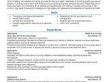 Optometry Student Resume Optometrist Resume Sample Resumes Misc Livecareer