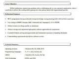 Oracle Apps Fresher Resume format 40 Fresher Resume Examples