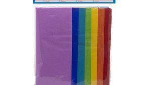 Orange Tissue Paper Card Factory Rainbow Coloured Tissue Paper Value Pk28