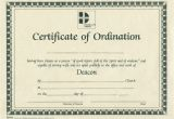 Ordination Certificate Templates ordination for Deacon B H Publishing Group