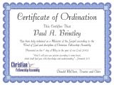 Ordination Certificate Templates Pastoral ordination Certificate by Patricia Clay issuu