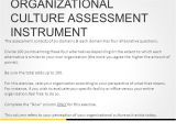 Organizational Culture assessment Instrument Template Readiness for Ebp the Role Of organizational Culture