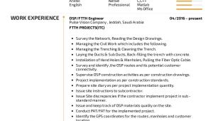 Osp Engineer Resume Resume Examples by Real People Osp Engineer Resume
