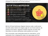Out Of Stock Email Template Out Of Stock Notification Magento Extension
