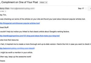 Outreach Email Template Just Deleted Your Outreach Email and No I Don T Feel sorry