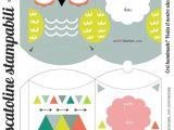Owl Pillow Box Template Free Printable Cute Owl Box Cajas Boxes Pinterest