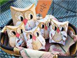 Owl Pillow Box Template Printable Owl Pillow Treat Boxes