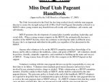 Pageant Resume Templates Sample Pageant Sponsor Letter Resume Cover Letter