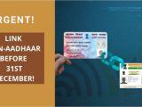 Pan Card Ka Hindi Name Urgent Aadhaar Pan Linking Last Date is Nearing Watch
