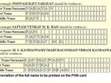 Pan Card Last Name Problem Name In Pan Card Passport Aadhaar Indian Naming System