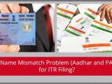 Pan Card Last Name Problem solved Name Mismatch Problem Aadhaar and Pan Card for