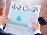 Paper Ad Design Templates Newspaper Large Ad Mockup Mockup Templates