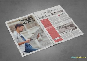 Paper Advertisement Templates 20 Best Newspaper Advertisement Mockup Psd Templates