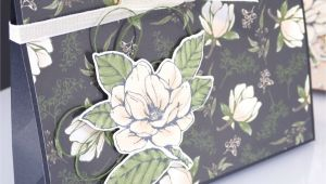 Paper and Card Suppliers Uk Huge Magnolia Lane Bag Tutorial Stampin Up Paper Gift