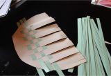 Paper Basket Weaving Template Best Photos Of Construction Paper Basket Template How to