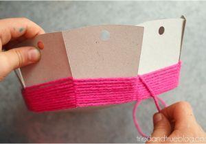Paper Basket Weaving Template Super Easy Cardboard Basket Weaving Tried True