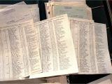 Paper Card Of Hs Code Schindlers Liste Wird Fur 2 4 Millionen Dollar Versteigert