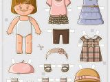 Paper Dress Up Dolls Template 25 Printable Paper Doll Templates Free Premium Download