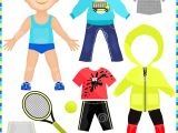 Paper Dress Up Dolls Template 7 Best Images Of Printable Boy Clothes Winter Clothes