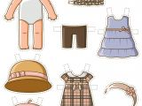 Paper Dress Up Dolls Template Dress Up Baby Paper Doll Free Printable Papercraft Templates