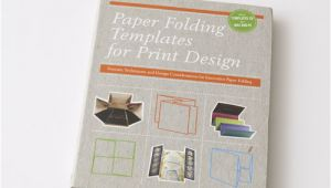 Paper Folding Templates for Print Design Paper Folding Templates for Print Design My Design Shop