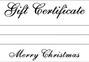 Paper Gift Certificate Template Gift Certificate Templates Blank Certificates