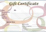 Paper Gift Certificate Template Paper Gift Certificate Template Get Certificate Templates