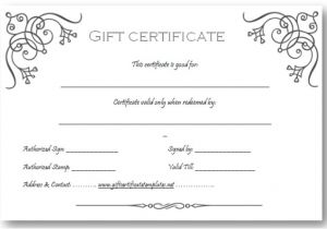 Paper Gift Certificate Template Work Anniversary Certificate Wording Professional