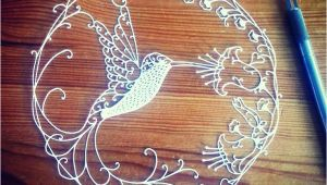 Paper Hummingbird Template Hummingbird Papercutting Template by Tammy Jenson Craftsy