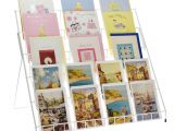 Paper Inserts for Card Making Stand Store Lightweight Collapsible Greeting Card Display