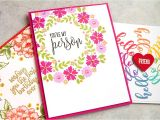 Paper Inserts for Card Making Wreath Builder Stamping