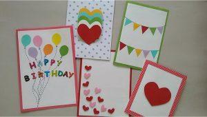 Paper Ka Card Kaise Banate Hain 5 Cute Easy Greeting Cards Srushti Patil