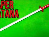 Paper Ka Card Kaise Banaye How to Make A Paper Sword Japanese Katana Sword