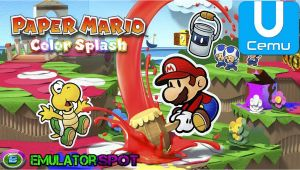 Paper Mario Color Splash Bone Card Paper Mario Color Splash Cemu Wiki