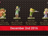 Paper Mario Color Splash Card Slots New Legend Of Zelda Amiibo are Coming In December Nintendo