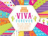 Paper Pads for Card Making Paper Addicts Viva forever Pad 100 Sheets 20 Designs 100gsm
