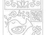 Paper Pricking Templates Use Our Bird Pin Pricking Template to Make Gorgeously