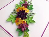 Paper Quilling Card for Teacher 1440 Best Quilling Flower Cards Images Quilling Flower