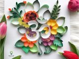 Paper Quilling Flower Card Design Pin by Stephanie Bailey On Quilling Quilling Designs
