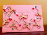 Paper Quilling New Year Card A Journey Into Quilling & Paper Crafting New Year Card