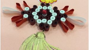 Paper Quilling New Year Card Paper Quilling Chinese New Year Card Home is where My