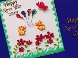 Paper Quilling New Year Card Quilling Paper Quilling New Year Greeting Card Quilled
