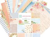 Paper Used for Card Making Amazon Com 24 Sheets Love forever Scrapbooking Pads Paper
