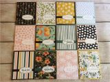 Paper Used for Card Making Make 72 Cards From Only One Package Of Stampin Up Designer