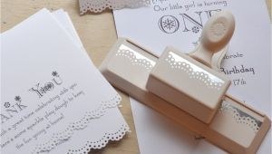 Paper Used for Invitation Card Martha Stewart Edge Lace Hole Punch for Invitations with