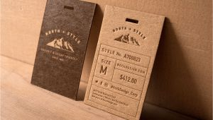 Paper Weight for Business Card Vintage Kraft Paper Tag 1 Rustic Business Cards Vintage