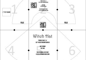 Paper Witch Hat Template Free Witch Hat Pattern Diy Witch Costume Sew Much Ado