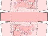 Papercraft Gift Box Templates Gift Box Pink Teddy Bear by Designsbyleigh On Deviantart