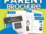 Parent Brochure Templates New Kindergarten Parent Brochures Editable Freebie